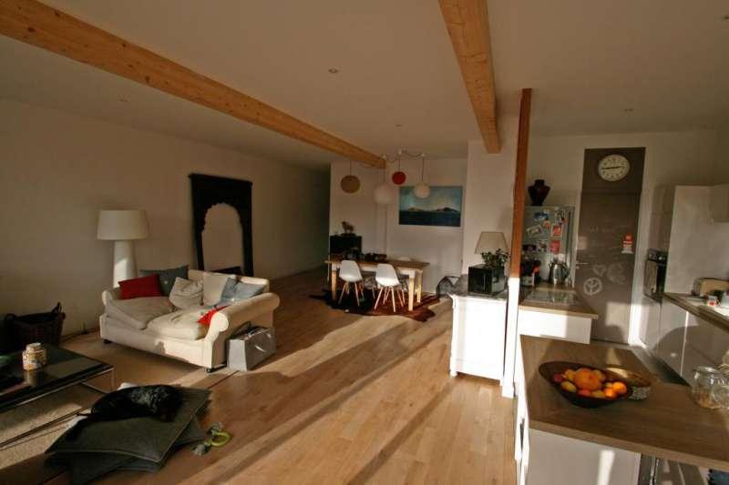 Interieur maison en bois cuisine for Cuisine ouverte vmc